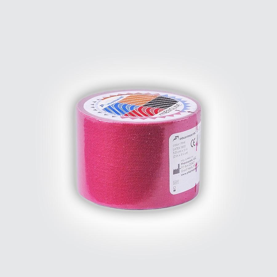 Кинезио тейп Pharmacels KINESIOLINE Tape розовыйКинезио тейп Фармацельс предназначен для лечения и профилактики широкого спектра заболеваний и травм. Прежде всего, это заболевания и травмы мышц, суставов и связок.<br>