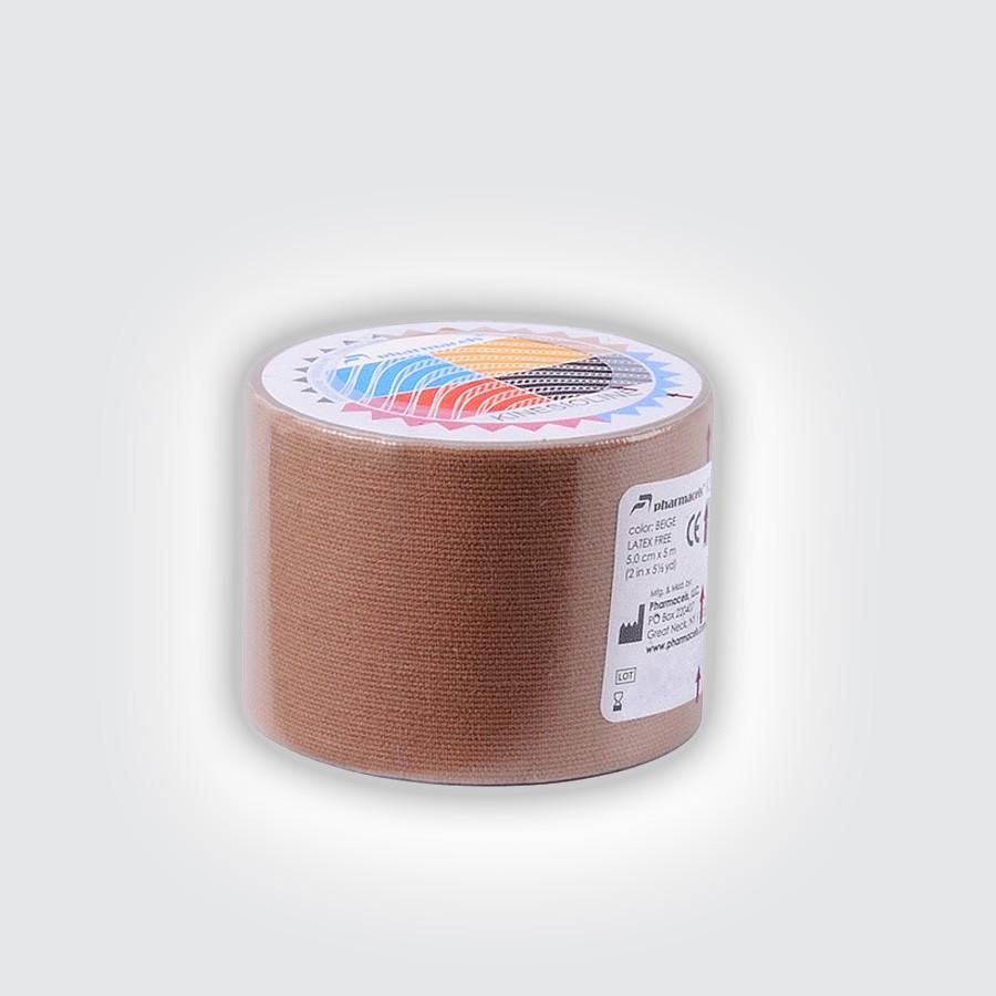 Кинезио тейп Pharmacels KINESIOLINE Tape бежевыйКинезио тейп Фармацельс предназначен для лечения и профилактики широкого спектра заболеваний и травм. Прежде всего, это заболевания и травмы мышц, суставов и связок.<br>