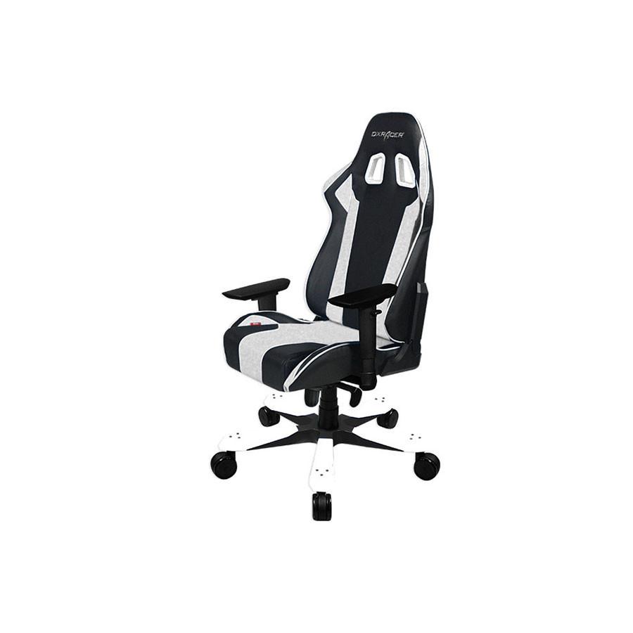 Компьютерное кресло King OH/KS06/NWКресло компьютерное DXRacer OH/KS06/NE представляет новую К-серию производителя DXRacer. Это отличный вариант для тех, кто любит современные, надежные и удобные вещи. За компьютером проходит немалое время жизни, поэтому следует позаботиться о максимальном комфорте и сохранении здоровья.<br>