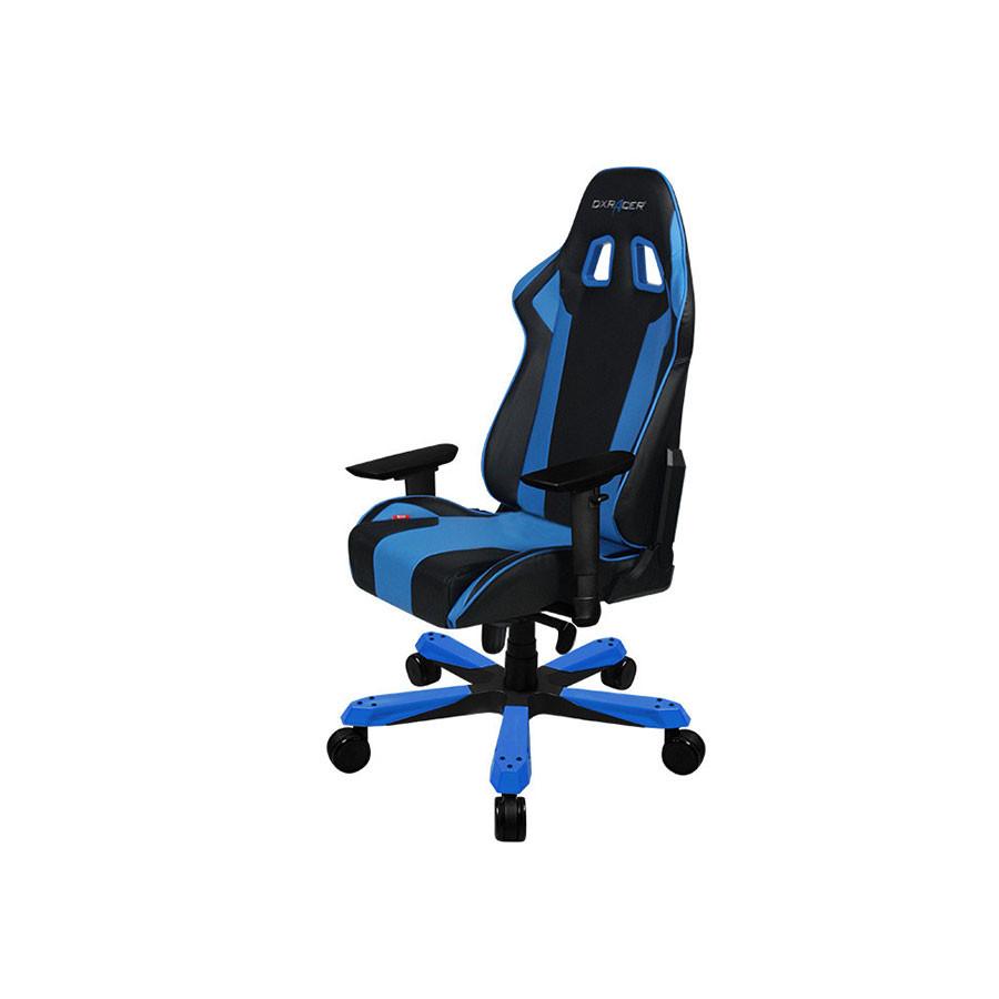 Компьтерное кресло King OH/KS06/NBКресло компьтерное DXRacer OH/KS06/NE представлет нову К-сери производител DXRacer. Это отличный вариант дл тех, кто лбит современные, надежные и удобные вещи. За компьтером проходит немалое врем жизни, потому следует позаботитьс о максимальном комфорте и сохранении здоровь.<br>