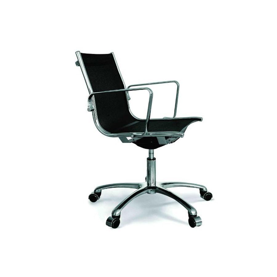 Кресло Scott Howard Luxy LIGHT B черное (средняя спинка)Итальянская коллекция офисных кресел серии LIGHT представлена разнообразными моделями высочайшего исполнения. Стильный представительный вид выгодно отличает эту модель на фоне остальных.<br>