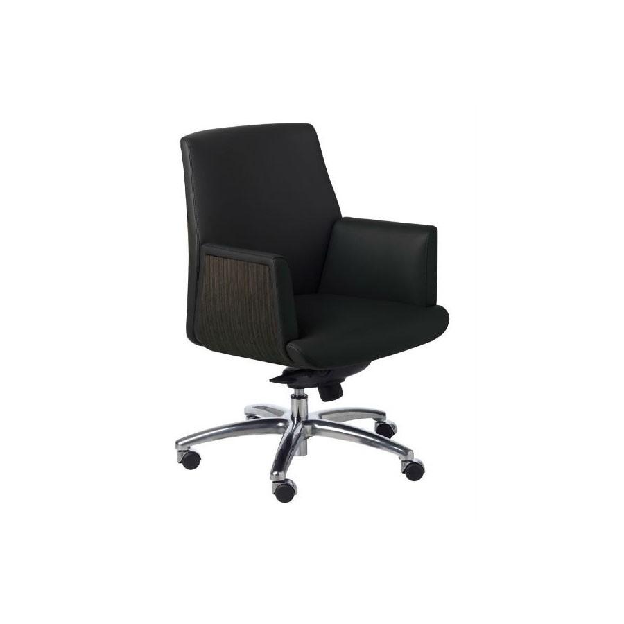 Кресло руководителя New Line Office ZEUS/В кожаное (орех/антрацит)В этом кресле гармонично сочетаются комфорт, модерн и практичность. Оно не останется незамеченным и обязательно обратит на себя внимание. Строгий классический дизайн кресла обязательно впишется даже в самый изысканный интерьер&amp;nbsp; и порадует даже самого взыскательного потребителя.<br>