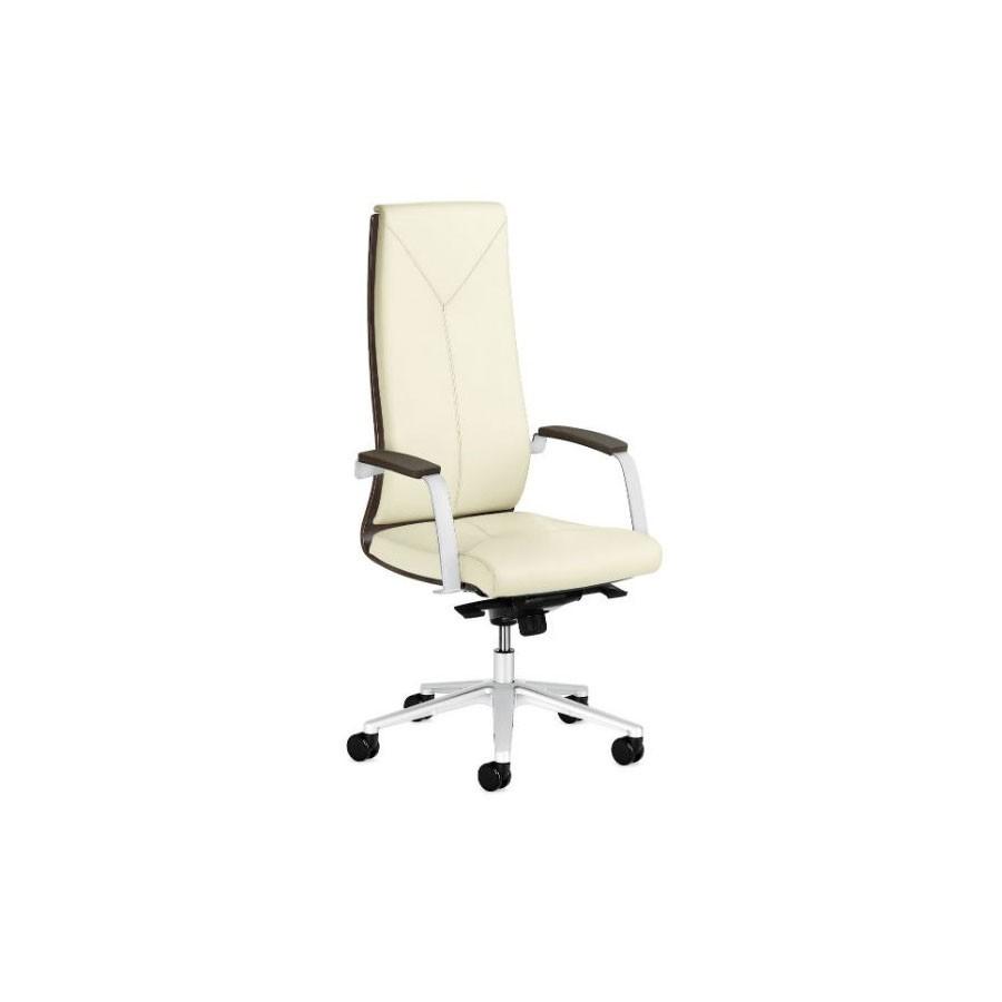 Кресло Scott Howard Sitland MADERA/A, дерев. подлокотники (беж/св.дуб)Изысканный стиль для изысканного руководителя. Стильный внешний вид и богатый функционал выгодно выделяют эту модель на фоне остальных. Сочетание кожи и деревянных вставок на спинке кресла позволяют создавать самый неповторимый интерьер, выигрышно комбинируя с различной мебелью. Кресло с высокой спинкой подчеркнёт статут компании.<br>