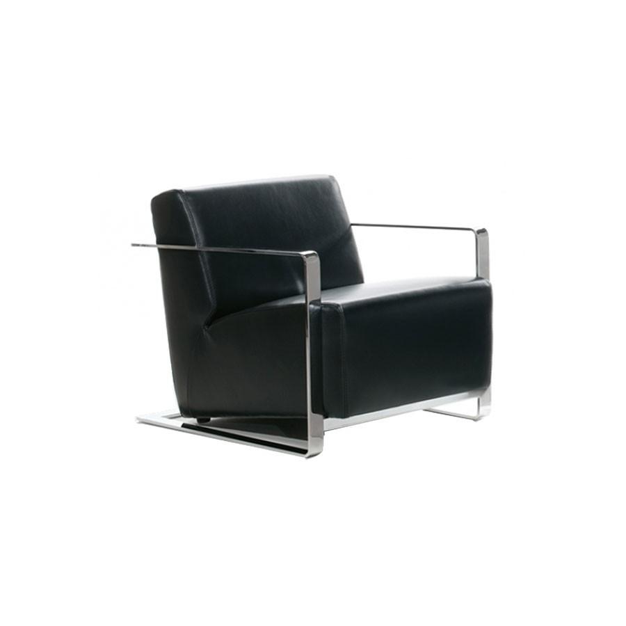 Кресло Scott Howard VIESTE черная кожаУникальный внешний вид добавит респектабельности любому помещению. Нестандартный подход к оформлению кресла придаст солидности и уверенности в завтрашнем дне.<br>