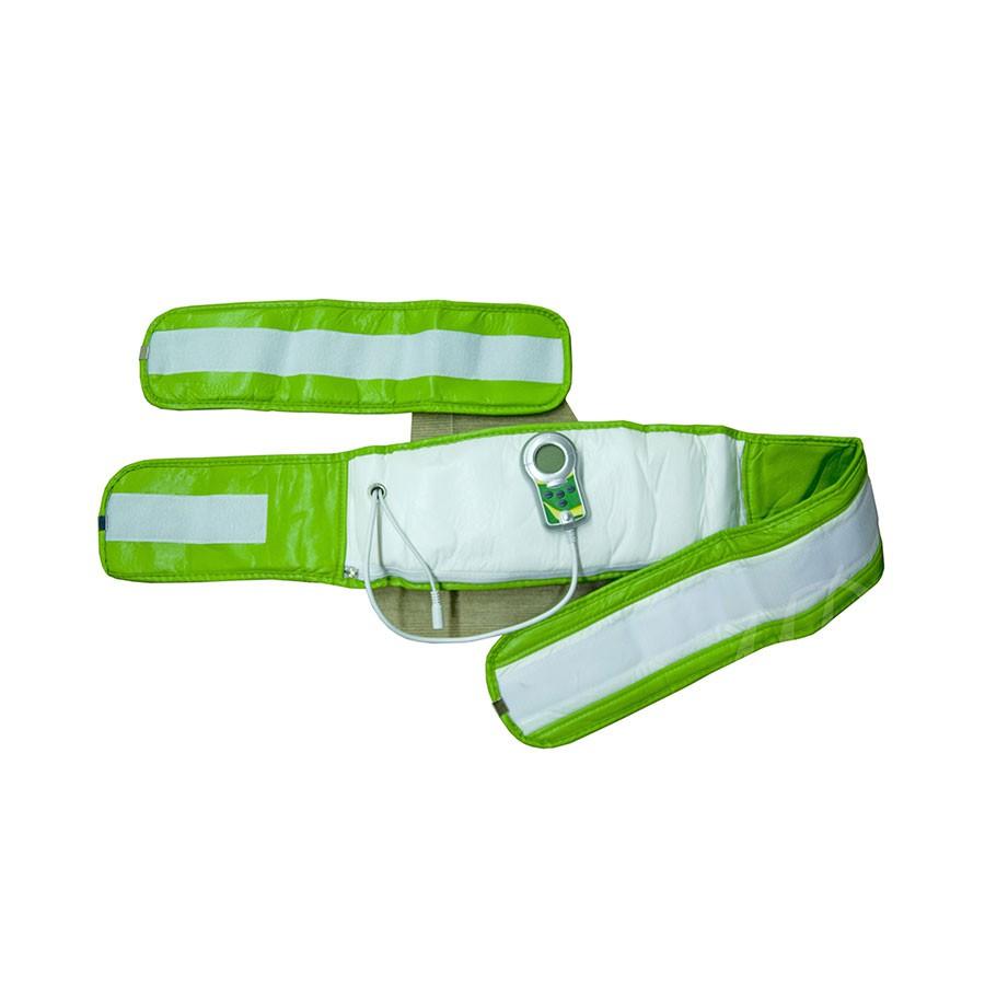 Массажный пояс Massage Paradise MP Fitnes Pro BeltМассажеры<br>Массажный пояс для похудения Fitnes Pro Belt можно использовать для области живота, спины, ягодиц, бедер, икр и плеч. Два мощных встроенных мотора напрямую воздействуют на поверхность кожи и подкожный жир со скоростью 12 000 оборотов в минуту (6 000 циклов). Дополнительная функция прогрева помогает сжигать подкожный жир, уменьшить боль в мускулах, снять усталость, улучшить кровообращение и ускорить обмен веществ.<br>