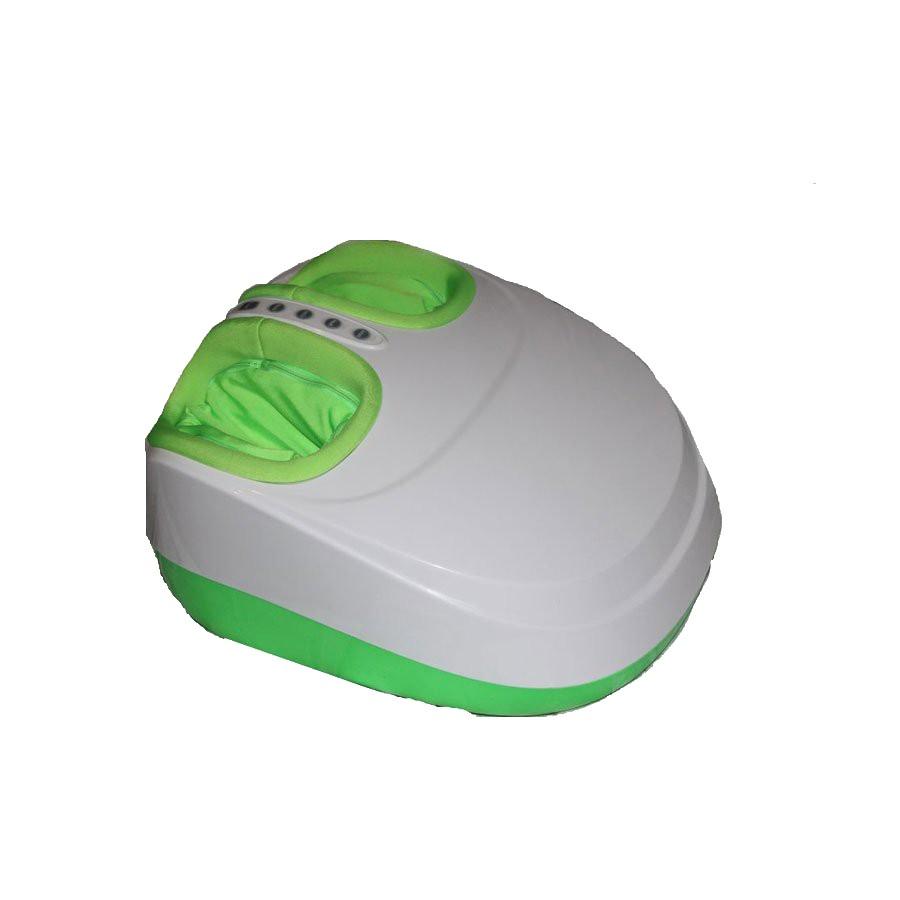 Массажер для ног Massage Paradise WH-6005 зеленыйМассажеры<br>Массажер для ног WH-6005 - высокотехнологичная и простая в использовании модель. Достаточно 15 минут массажа в день, чтобы ощутить всю эффективность сочетания современных технологий и древнейших восточных техник массажа. Специальные механизмы массажера обеспечивают активное воздействие на рефлексогенные зоны, расположенные на ступнях. Волнообразные движения, создаваемые давлением воздуха, способствуют улучшению лимфо- и кровотока.<br>