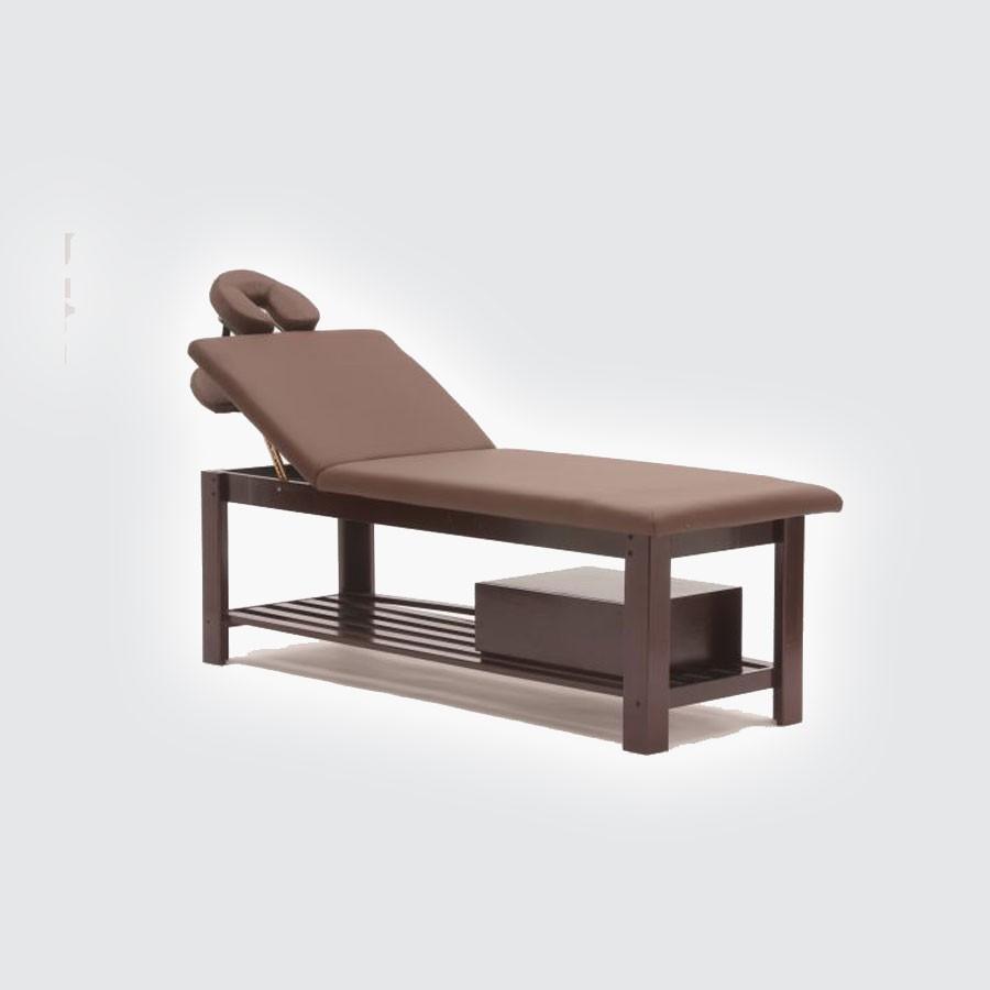 Стационарный массажный стол Med-Mos FIX-0В венгеПрочная конструкция, изысканный дизайн, функциональность. Стол подходит для всех видов массажа и SPA - процедур.<br>
