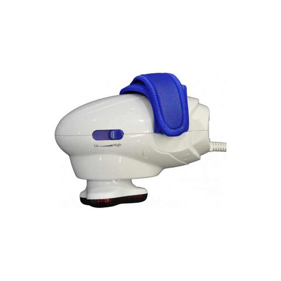 Ручной массажер для тела MP Hand-Held KD-6104 ГолубойМассажеры<br>Данная модель ручного массажера осуществляет вибромассаж различных участков тела. При регулярном использовании массажера можно уменьшить напряжение мышц, снять болевой синдром, а также сделать связки и суставы более подвижными и гибкими.<br>