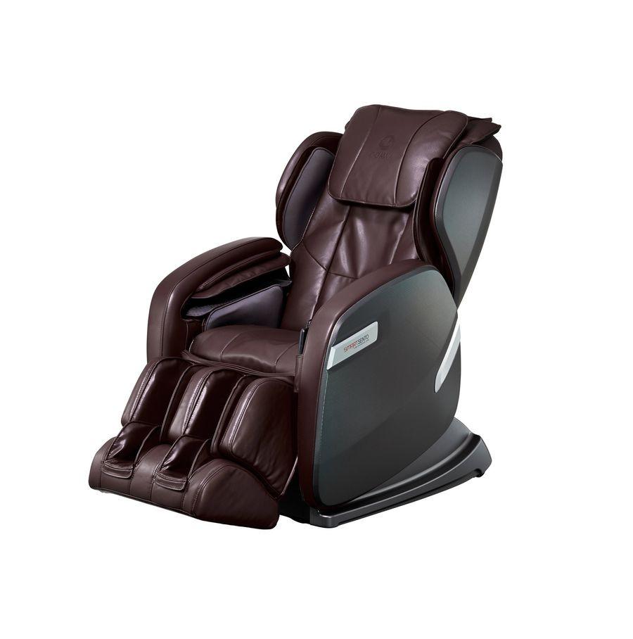 Массажное кресло Ogawa Smart Sento OG6238 Dark BrownЧто может быть лучше массажа? Только массаж плюс СПА процедуры. Массажное кресло Ogawa Smart Sento OG6238 с подогревом создаст атмосферу полного расслабления тела и разума. Преимущества данного массажного кресла позволят создать атмосферу заграничного курорта в пределах своего дома. Встроенные компрессионные подушки и подогрев выгодно выделяют данную модель массажного кресла среди других. Человек полностью погружается в кресло и чувствует приятное тепло.<br>