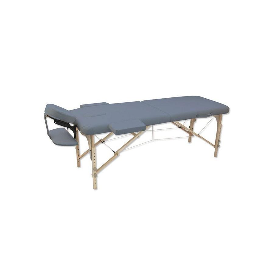Складной массажный стол Oxygen Ecoline 50 синий агатСкладной 2-ух секционный переносной массажный стол предназначен для домашнего и коммерческого использования. Он укомплектован большим количеством. Для дополнительной устойчивости ножки оснащены двойными фиксаторами. Материал обивки - полиуретан на натуральной основе толщиной 0.7 мм. Стол складывается в форму чемодана и удобен для транспортировки, сумка для переноски входит в комплект.<br>