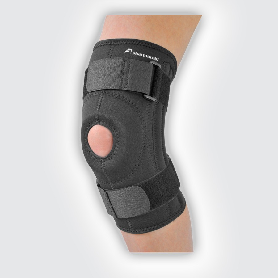Бандаж-стабилизатор коленной чашечки Pharmacels Patella Stabilizer Knee Brace PRO (Pharmacels Power-Q)
