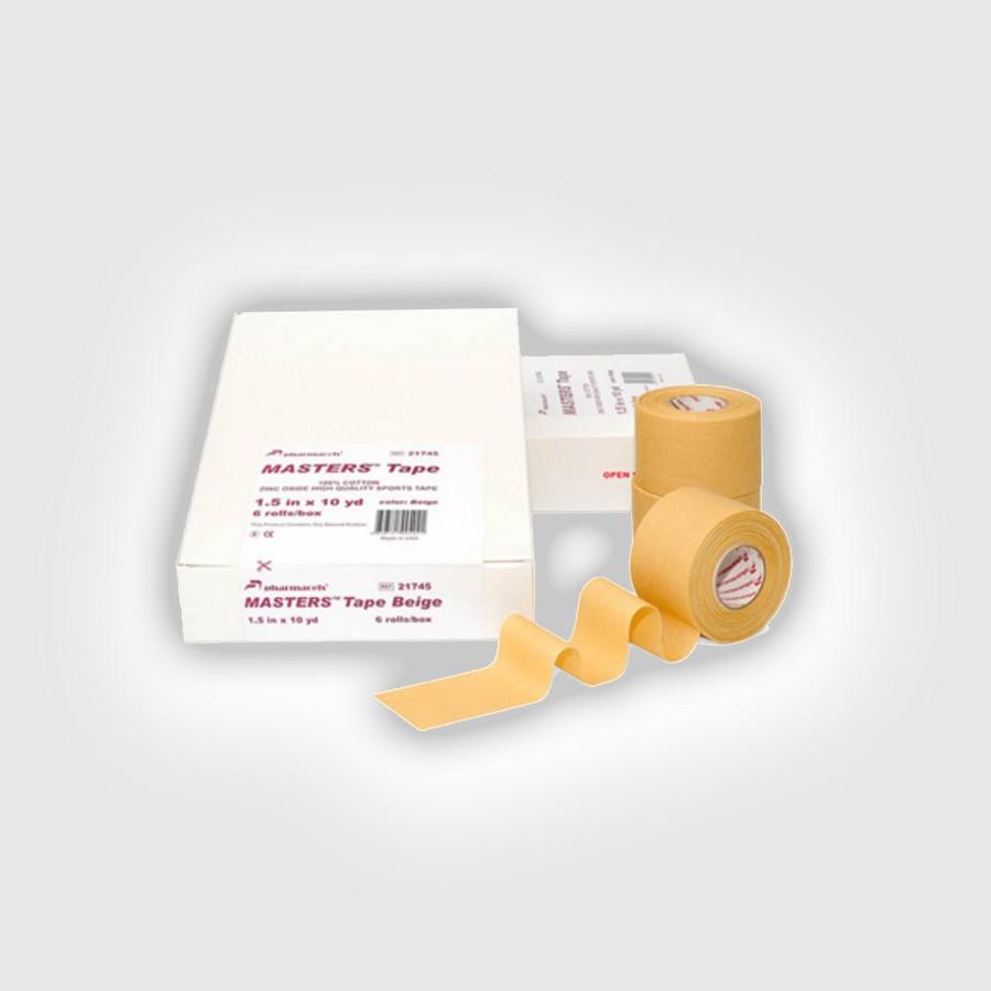 Кинезио тейп Pharmacels MASTERS Tape (6 рулонов) бежевый от Relax-market