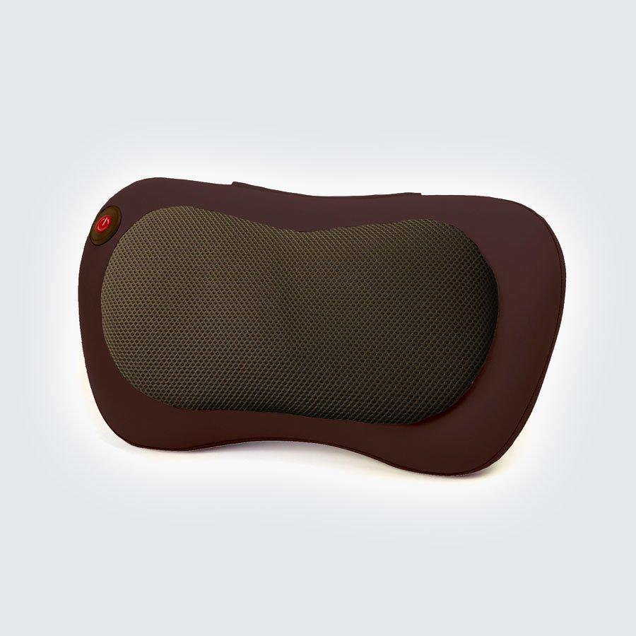 Автомобильная массажная подушка Planta MP-010ВКомпактная массажная подушка для использования дома или в автомобиле. Роликовый массаж Шиацу.&#13;<br>&#13;<br>Массажная универсальная подушка MP-010 - идеальный массажер для шеи, плеч, спины, поясницы, живота и ног. Массажные ролики Шиацу и инфракрасный подогрев имитируют действие массажиста, осуществляют эффективный разогревающий массаж, снимают напряжение, улучшают кровообращение, расслабляют и тонизируют одновременно.<br>