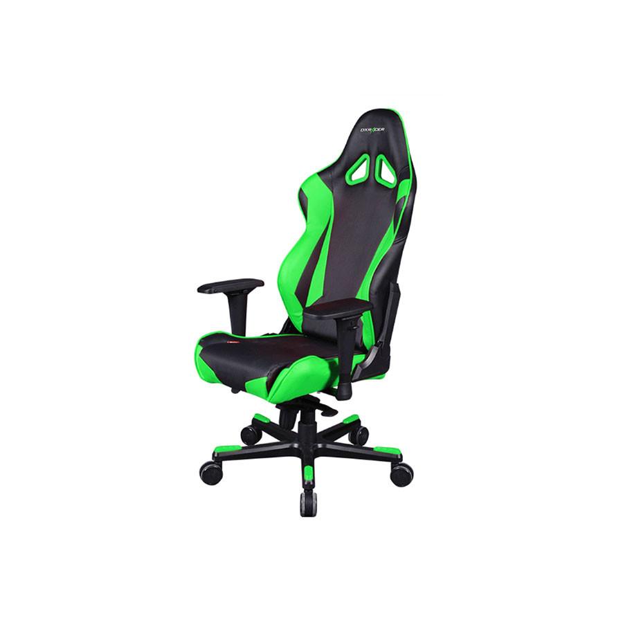 Компьютерное кресло Racing OH/RJ001/NEКомпьютерное кресло DXRacer OH/RJ001/NR &amp;ndash; стильная и удобная модель, позволяющая проводить длительное время за компьютером с максимальным комфортом. Этому способствуют анатомические особенности конфигурации.<br>