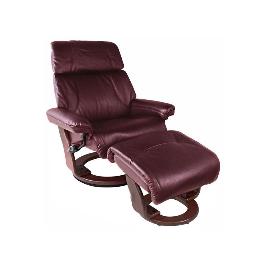 Кресло-реклайнер Relax Piabora 7511W кожа-бордо /дерево-венгеКресло-реклайнер Пиабора &amp;ndash; выбор тех, кто знает толк в релаксе. Кресло-реклайнер Пиабора из серии Relax &amp;ndash; это трансформирующаяся мебель, благодаря которой вы сможете почувствовать полное расслабление всего тела. Для еще большого комфорта предусмотрен удобный пуфик для ног.&amp;nbsp;Вы будете получать удовольствие от комфорта, занимаясь при этом своими делами &amp;ndash; работой, отдыхом, чтением, просмотром фильмов в оборудованном домашнем кинотеатре.<br>