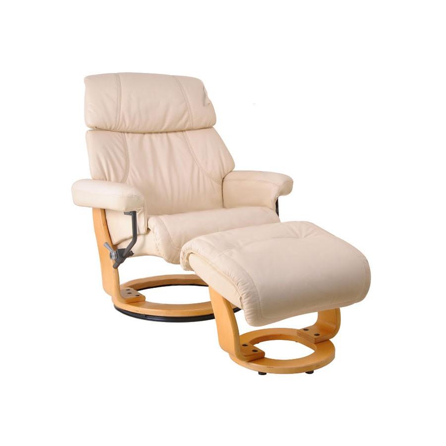 Кресло-реклайнер Relax Piabora 7511W кожа сл.кость / дерево св.коричневыйКресло-реклайнер Пиабора &amp;ndash; выбор тех, кто знает толк в релаксе. Кресло-реклайнер Пиабора из серии Relax &amp;ndash; это трансформирующаяся мебель, благодаря которой вы сможете почувствовать полное расслабление всего тела. Для еще большого комфорта предусмотрен удобный пуфик для ног.&amp;nbsp;Вы будете получать удовольствие от комфорта, занимаясь при этом своими делами &amp;ndash; работой, отдыхом, чтением, просмотром фильмов в оборудованном домашнем кинотеатре.<br>