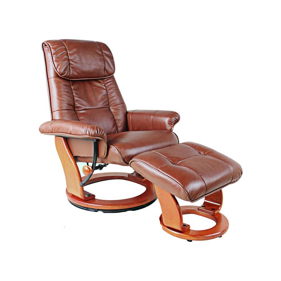 Кресло-реклайнер Relax Ularia 7112L кожа - темно-коричневый / дерево - светло-коричневыйОригинальное кресло-реклайнер Улария позволит комфортно отдыхать и работать в любом удобном для вас положении. Эргономическая конструкция подойдет тем, кто заботится о своем здоровье, ведь при проектировании учитываются анатомические особенности строения человека. В итоге удается исключить нарушение кровообращения, нагрузки на отдельные области спины, бедер, шеи.<br>