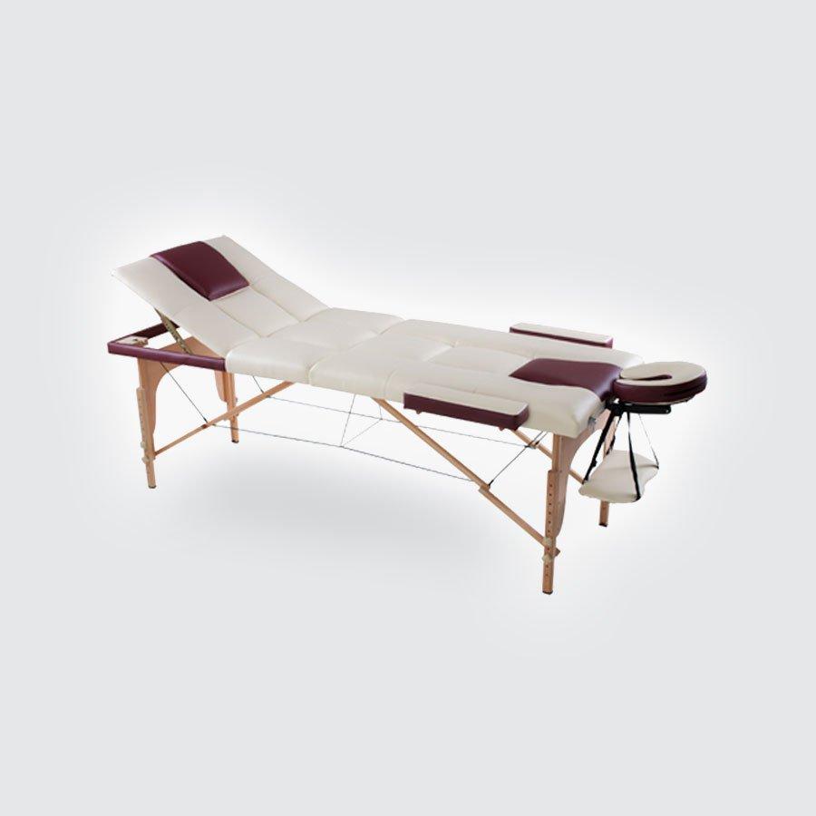 Складной массажный стол EcoSapiens ArtmassageМощный деревянный корпус складного массажного стола Eco Sapiens Artmassage обеспечит надежность, благородные цвета обивки произведут неизгладимое впечатление, дополнительные опции добавят комфорт Вашим клиентам, а работа за таким столом доставит истинное удовольствие Вам!&amp;nbsp;После сеанса массажа улучшается не только физическое, но и духовное состояние человека. Восстанавливается энергетический баланс, поднимается настроение, улучшается сон и повышается жизненный потенциал.<br>