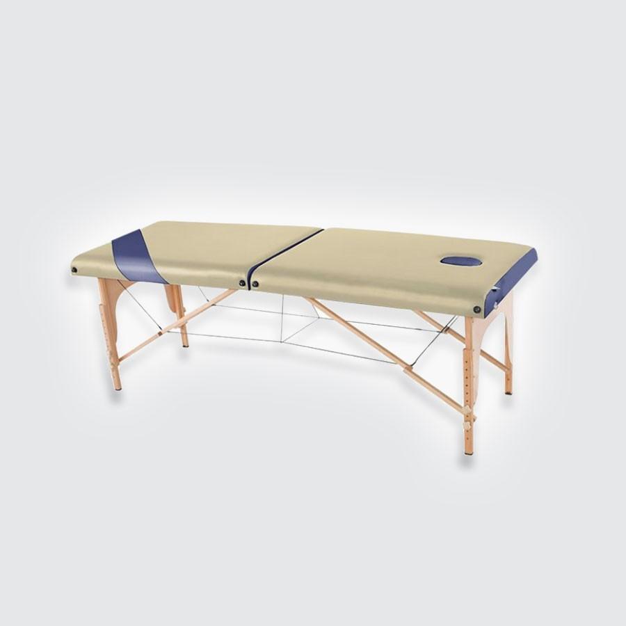 Складной массажный стол EcoSapiens SimplexСкладной стол для массажа Eco Sapiens&amp;nbsp;SIMPLEX&amp;nbsp;&amp;ndash; это удобный вариант для массажиста, выезжающего к клиентам на дом. В собранном виде такой стол компактен, не занимает много места и удобен для переноски. Специальный фиксатор не даст изделию непроизвольно начать раскладываться. А конструкция продумана таким образом, что Вам не составит труда разложить стол и приготовить его к использованию, а так же собрать изделие после окончания процедуры.<br>