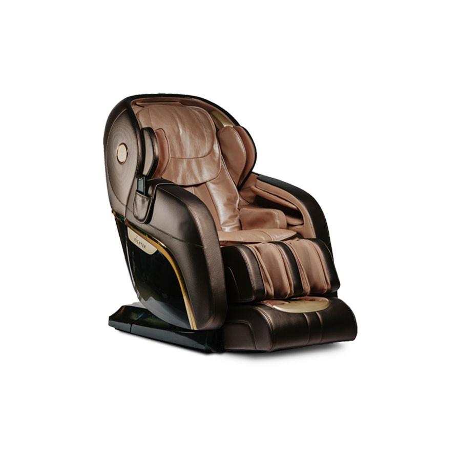 Массажное кресло Richter Charisma коричневыйМассажное кресло Richter Charisma разрабатывалась на протяжении нескольких лет и за это время не раз модернизировалось, добавлялись новые функциональные возможности, соответствующие современному уровню массажного оборудования. Кресло объединяет в себе разнообразные массажные техники, в том числе реализует наиболее популярные принципы традиционной китайской медицины.<br>