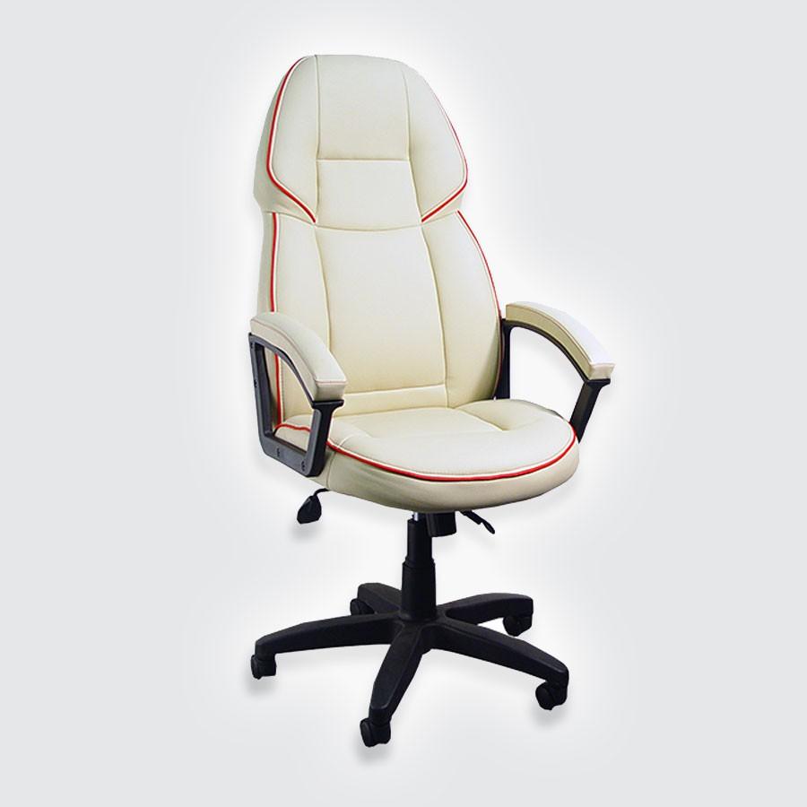 Компьютерное кресло для дома Сарос Адмирал 2 бежевыйДизайны мебели в классических и привычных стилях часто бывают скучными, но компьютерное кресло Адмирал2 формирует другой взгляд на классику. Эта модель выглядит богато и становится одним из центральных акцентов всей комнаты благодаря своим небольшим дизайнерским сюрпризам.<br>