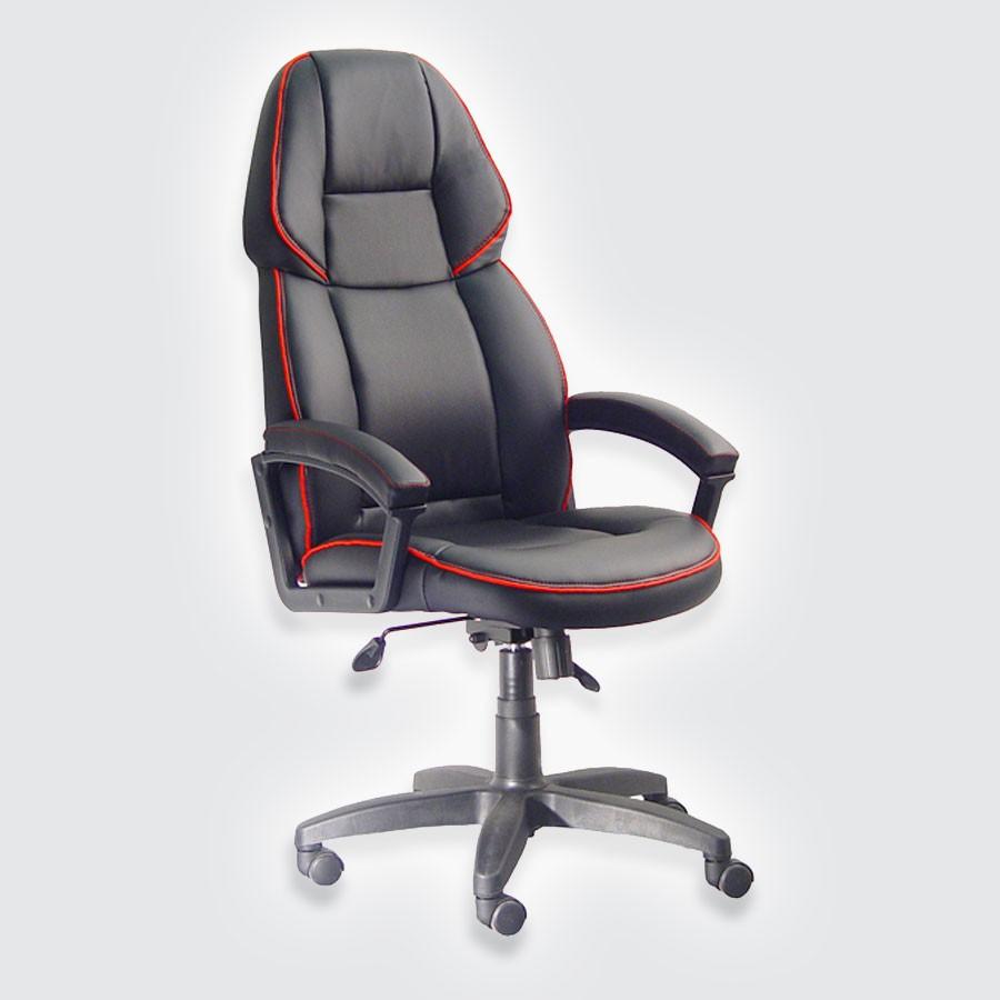 Компьютерное кресло Адмирал 2 (250 кг) с гарантией 2 года черный