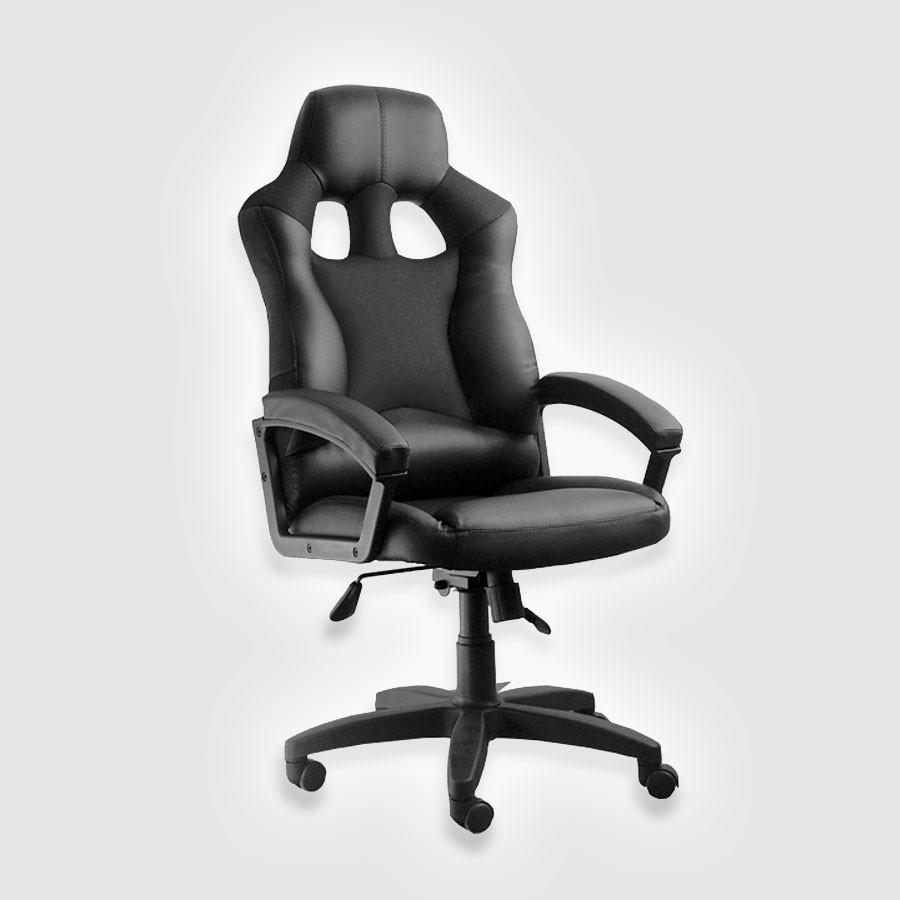 Компьютерное кресло для дома Сарос Дик черный+красный