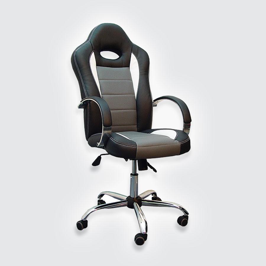 Компьютерное кресло для дома Сарос Дик 2 ЛюксВ разработке современных кресел используются отличные технологии, что позволяет сделать мебель удобной и красивой. Сочетание этих двух факторов сделало компьютерное кресло Дик2 LUXE одним из лучших в своем роде, ведь покупатель получает долговечное и удобное устройство.<br>
