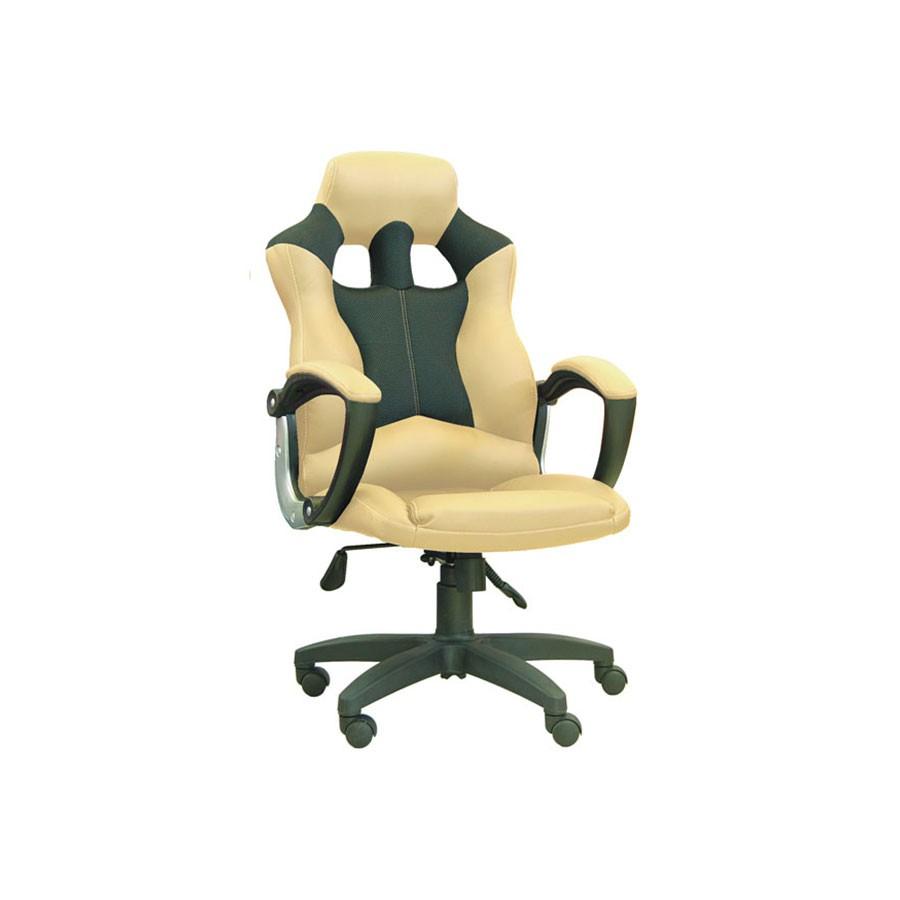 Компьютерное кресло для дома Сарос Дик бежевыйЕсли кресло Дик попадает в сегмент компьютерной мебели для геймеров, это говорит лишь о его высоком уровне комфорта. Если вы не любите компьютерные игры, такие компьютерные кресла для дома станут прекрасными помощниками в интернет-серфинге или в работе. Главные преимущества кресла этой модели скрываются в его конструкции.<br>