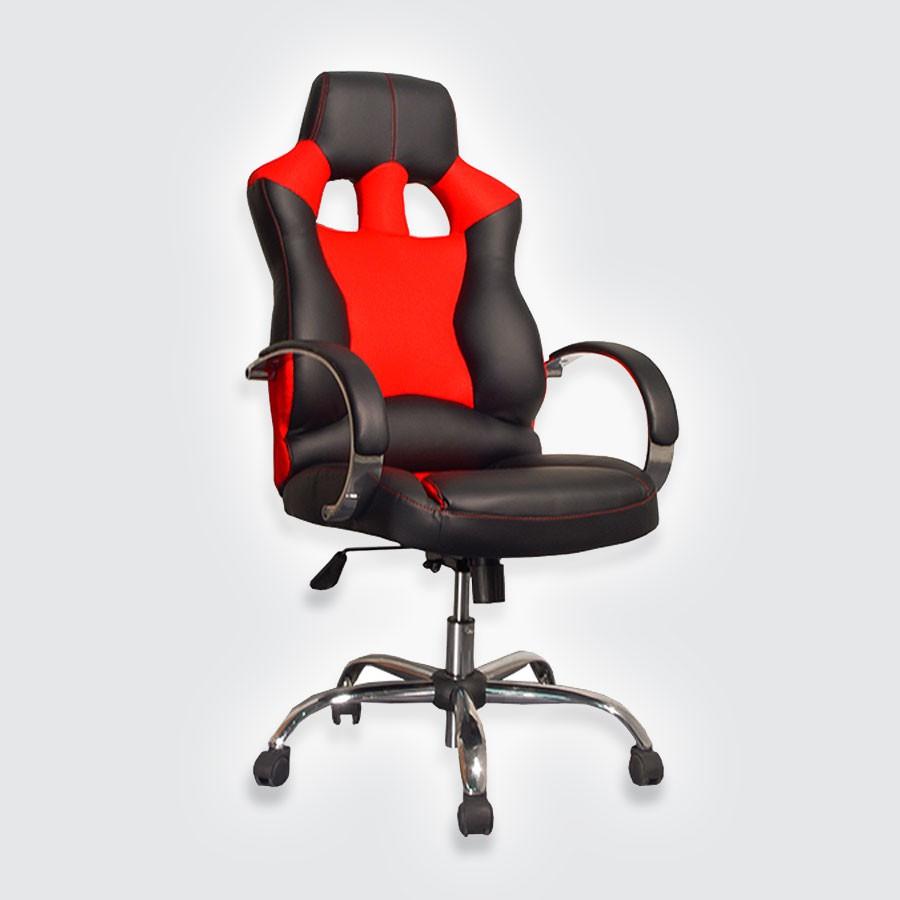 Компьютерное кресло для дома Сарос Дик Люкс черный+красныйПокупая предметы обстановки для дома, каждый старается соблюдать правильное сочетание стоимости, качества и красоты. От удачного выбора зависит долговечность мебели и удовольствие ее использования. Компьютерное кресло Дик LUXE совместило в себе все практичные преимущества серии Дик и добавило много важных плюсов элитного класса.<br>
