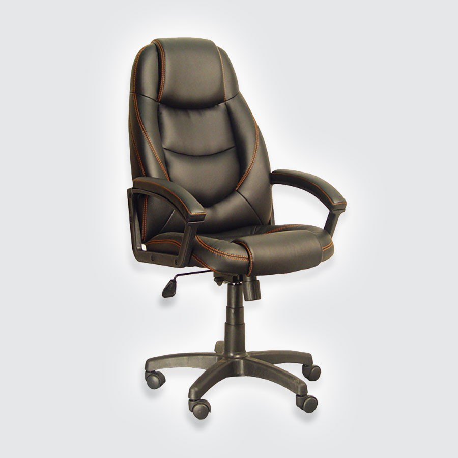 Компьютерное кресло для дома Сарос Электрус черный
