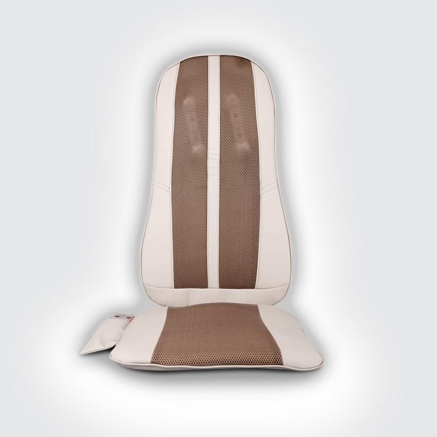 Автомобильное массажное сидение Sensa RT-2138Автомобильное сидение с двигающимися массажными элементами в области спины. Массажное сидение выполняет разминание, массаж Шиатцу и покачивание, как в автоматическом так и в ручном режимах управления. А также сидение оснащено двумя вибрационными моторами в области ягодиц, для трехуровнего вибромассажа. Автомобильное массажное сидение работает от прикуривателя, кроме того, Вы можете использовать его дома, подключив к розетке.<br>