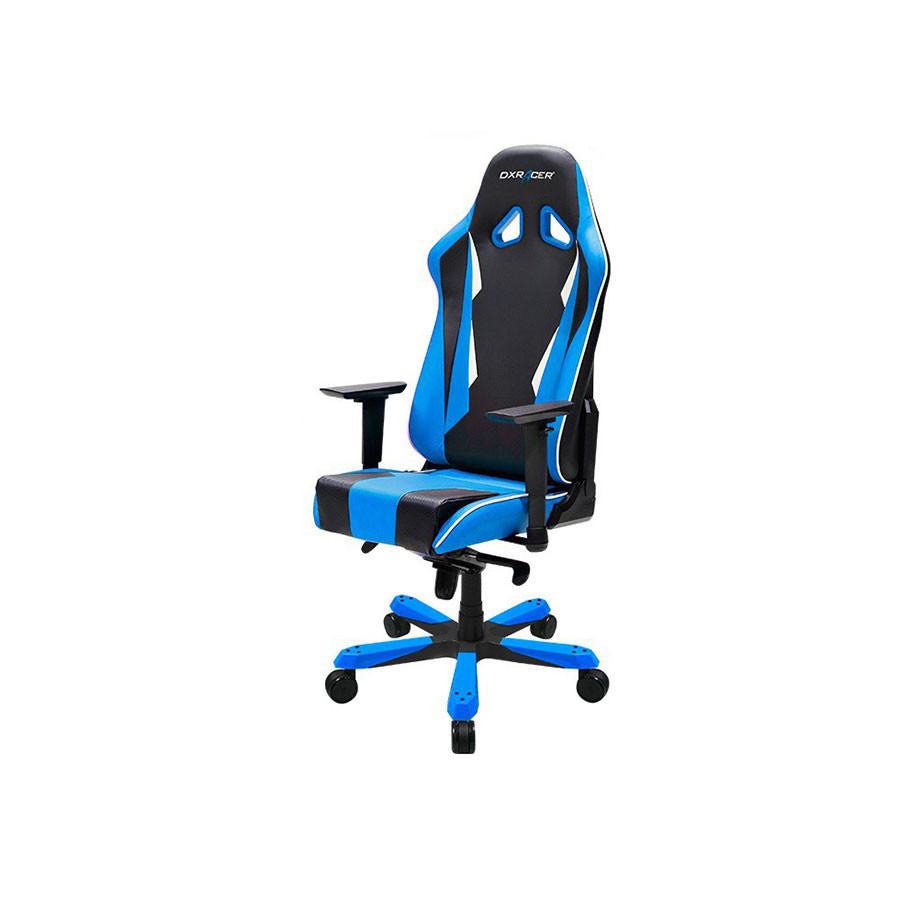 Компьютерное кресло Sentinel OH/SK28/NBКомпьютерное кресло DXRacer OH/SK28/NR разработано специально для людей полной комплекции. Увеличенный размер сиденья и анатомические изгибы спинки делают работу за компьютером особенно комфортной.<br>