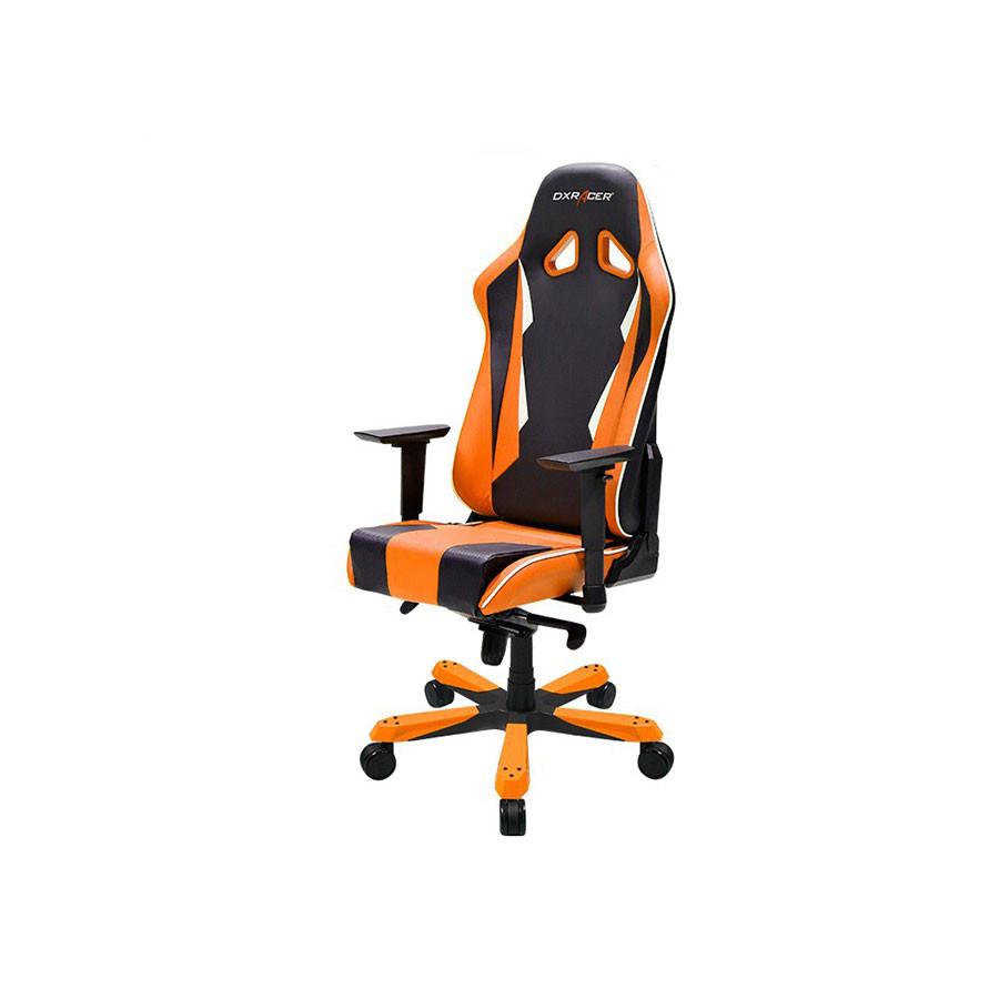 Компьютерное кресло Sentinel OH/SK28/NOКомпьютерное кресло DXRacer OH/SK28/NR разработано специально для людей полной комплекции. Увеличенный размер сиденья и анатомические изгибы спинки делают работу за компьютером особенно комфортной.<br>