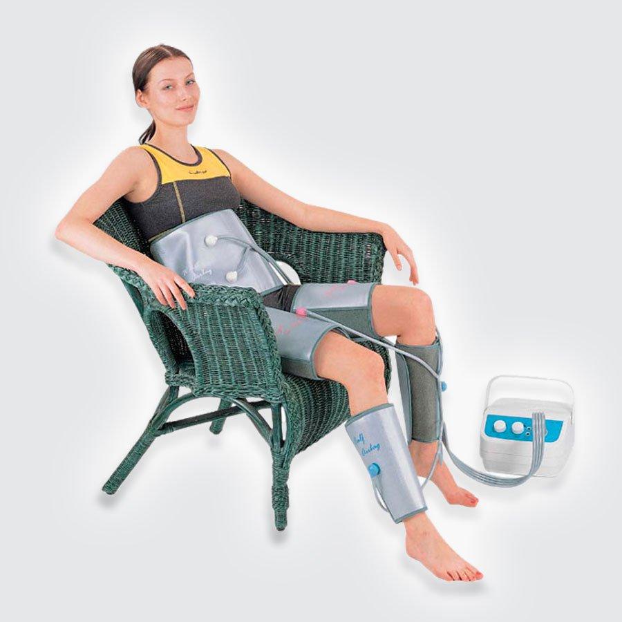 Аппарат для прессотерапии Takasima AM-309Портативный аппарат для прессотерапии Takasima AM-309 поможет Вам улучшить свое здоровье и снять лишний вес. Активно воздействуя на лимфатическую систему организма, Takasima AM-309 выводит излишки жидкости и накопившиеся токсины. Это способствуют интенсификации процесса питания и очищения тканей. Таким образом, пнессотерапия оказывает на организм глубокое благотворное воздействие, основанное на физиологическом дренаже тканей и целебном воздействии массажа.<br>