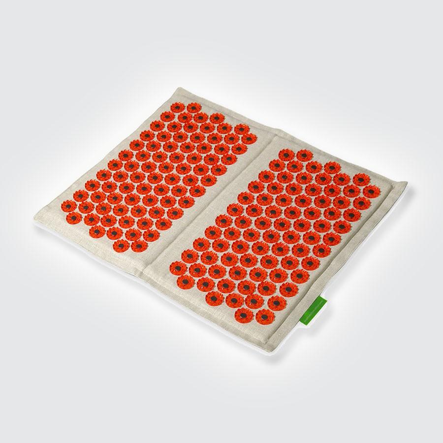 ТИБЕТСКИЙ коврик для ступней (Аппликатор Кузнецова) красный (Кортин-Медтехника)