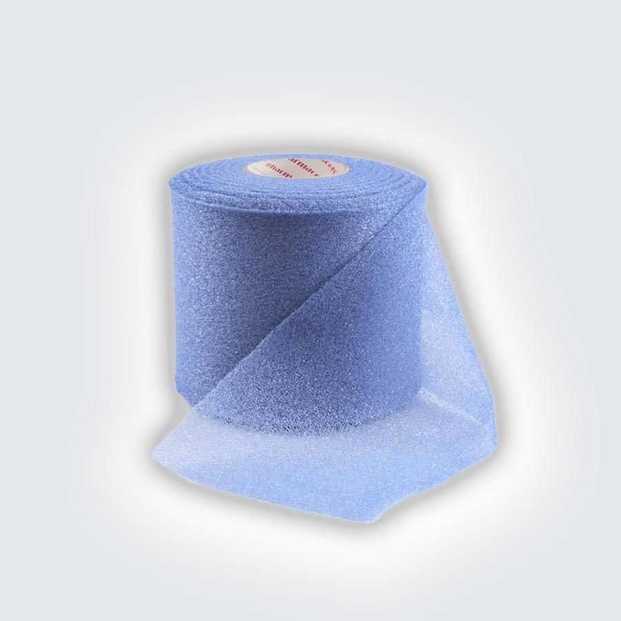 Подтейпник Pharmacels UnderWrap голубойПористый полиуретановый перевязочный материал (подтейпник), используемый в качестве подкладки под спортивный тейп.<br>