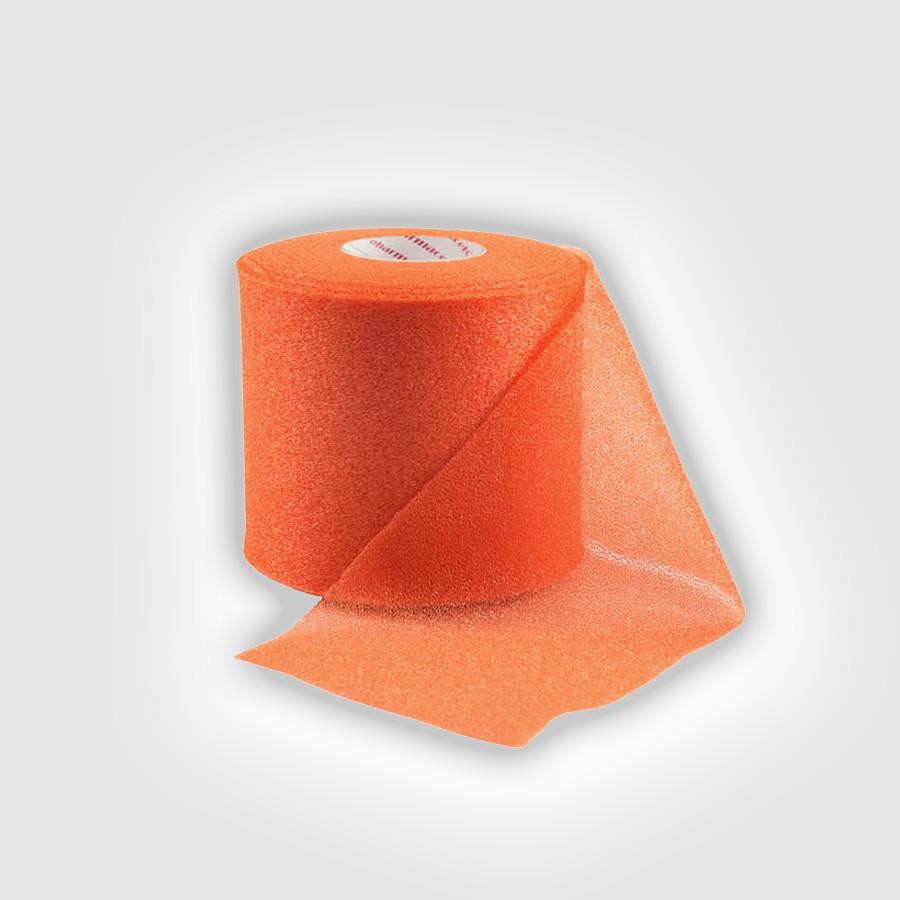 Подтейпник Pharmacels UnderWrap оранжевыйПористый полиуретановый перевязочный материал (подтейпник), используемый в качестве подкладки под спортивный тейп.<br>