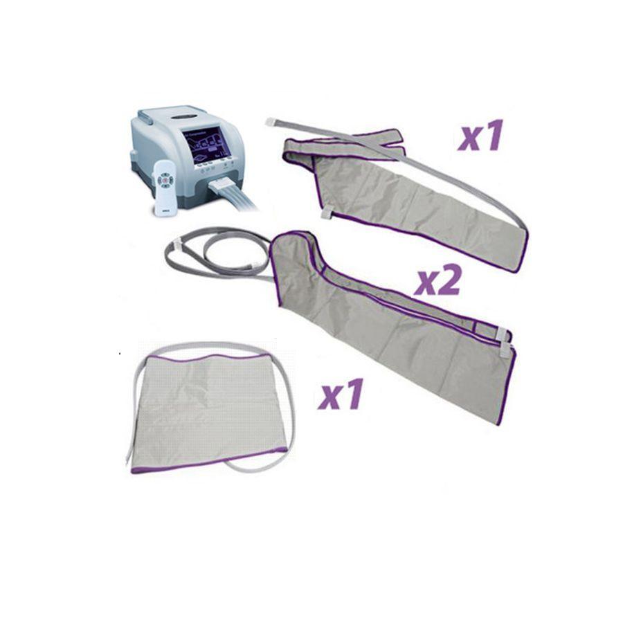Аппарат прессотерапии Unix Air Control Полный комплектВ этом году корейская компания MAXSTAR представила обновленный аппарат для прессотерапии Unix Air Relax, который стал более удобным и комфортным для домашнего использования. При этом аппарат имеет все функции лимфодренажной терапии и используется для улучшения общего кровотока в области нижних конечностей.<br>