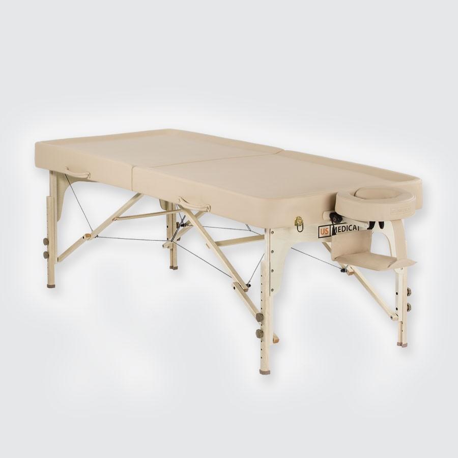 Складной массажный стол US Medica Bora-BoraСпециальный стол US MEDICA Bora-Bora предназначен для того, чтобы аюрведический массаж был наиболее профессиональным и удобным, и был разработан массажный стол Bora-Bora. Благодаря его конструкции, стол очень удобен и для интенсивного, и для расслабляющего массажа, поскольку высота может регулироваться от 60,5 см до 86 см. Рабочая поверхность стола снабжена бортиками, а специальный желоб на подголовнике будет препятствовать скоплению лишнего масла.<br>