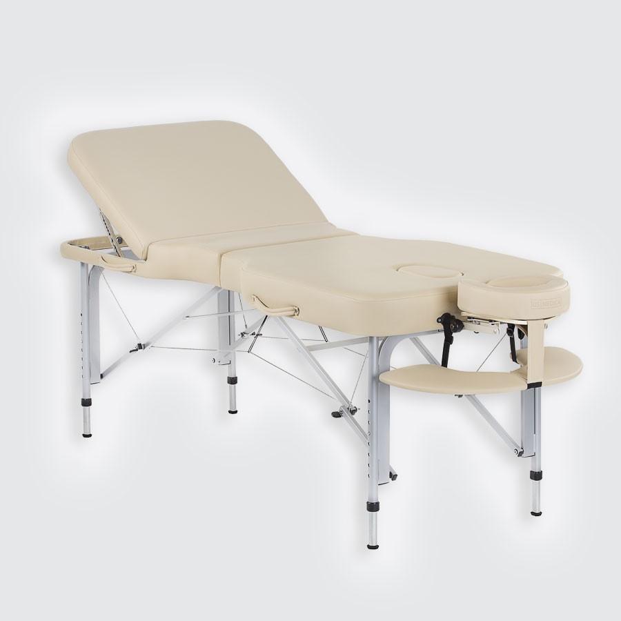 Складной массажный стол US Medica TitanЕсли Вы считаете, что складной массажный стол не может сравниться со своими стационарными аналогами, значит, Вы просто не видели новую модель массажного стола Titan от компании US Medica. Роскошный стиль массажного стола Titan привлекает внимание с первого взгляда, а продуманный до мелочей дизайн делает данную модель не только образчиком стиля, но и удобным, функциональным приобретением.<br>