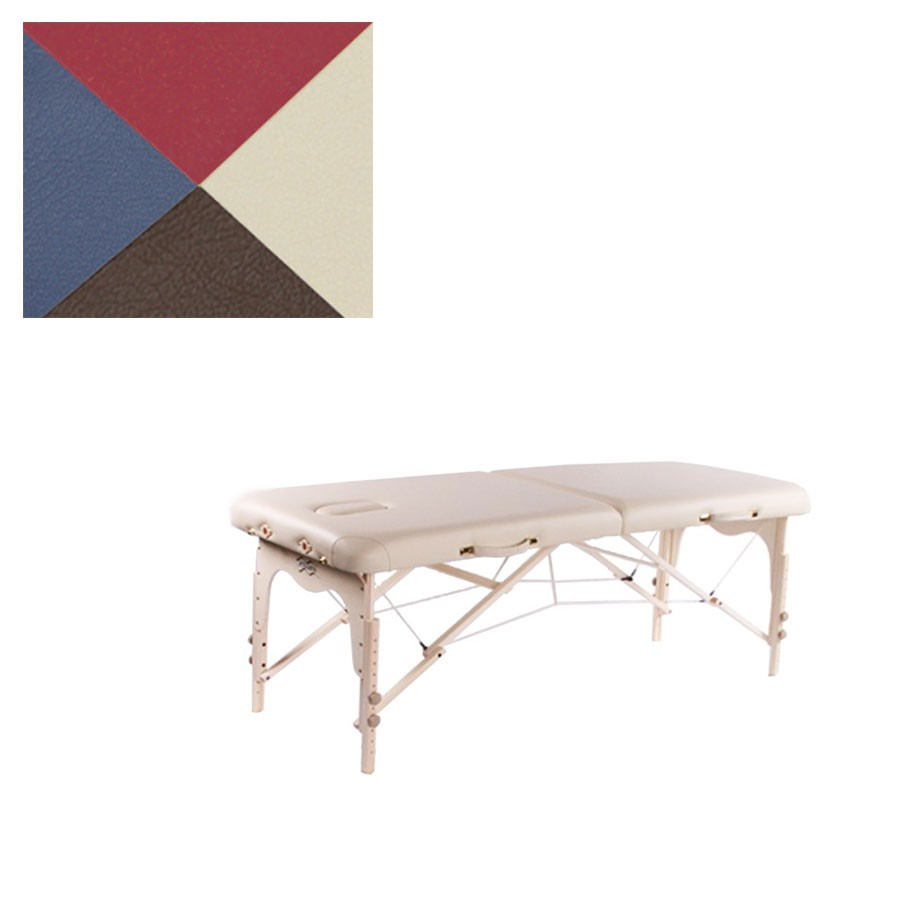 Складной массажный стол Vision Juventas I бордо