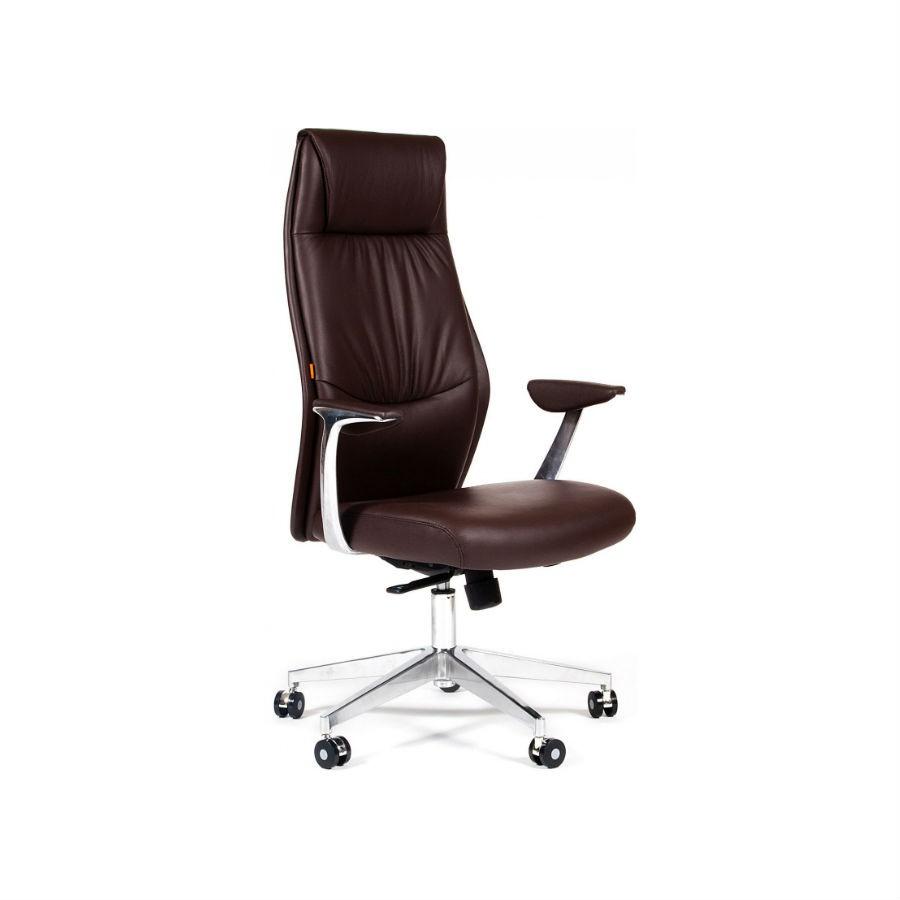 Кресло для руководителя CHAIRMAN Vista коричневыйДизайн кресла CHAIRMAN Vista является удачным сочетанием классических мягких линий и современных лаконичных форм.<br>