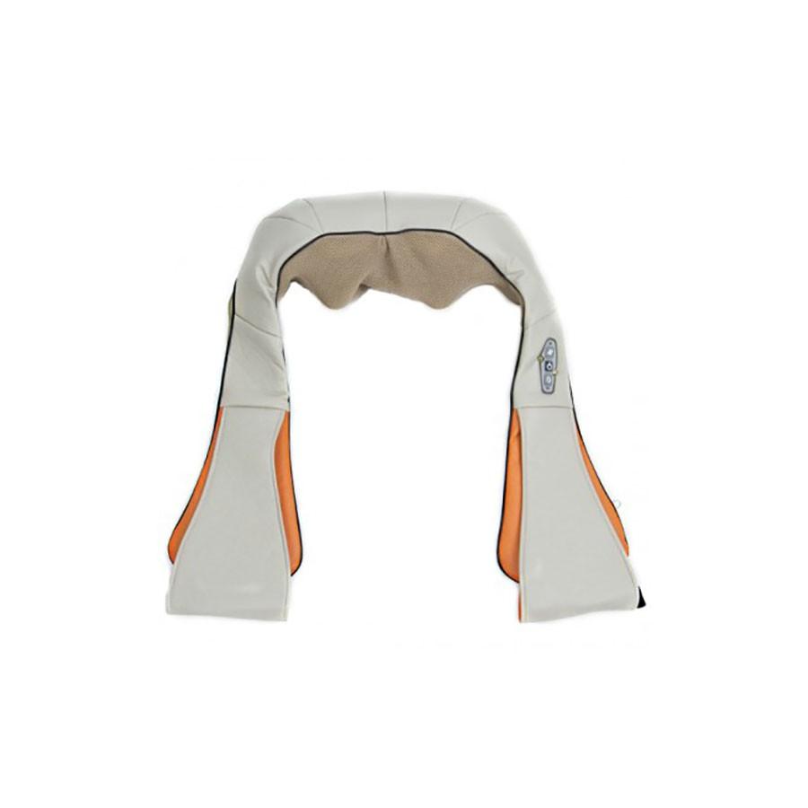 Массажер для шеи WH 1013Массажер для шеи WH-1013 представляет собой массажный воротник, который будет отличным и эффективным помощником при болевом синдроме в области воротниковой зоны, а также для снятия накопившегося напряжения и усталости в плечах и пояснице. Аппарат одновременно осуществляет роликовый и прогревающий массаж, благодаря чему результат становится наиболее эффективным.<br>