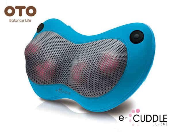 OTO Массажная подушка ОТО e-Cuddle EU-280 синий