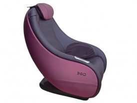 Массажное кресло EGO Lounge Chair EG8801 брусника
