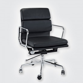Кресло Eames Style Soft Pad Office Chair EA 217 черный