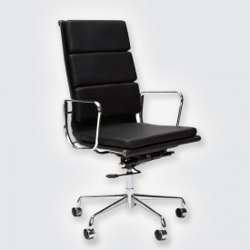 Кресло Eames Style HB Soft Pad Executive Chair EA 219 черный