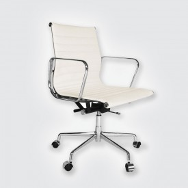 Кресло Eames Style Ribbed Office Chair EA 117 белый