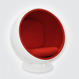 Кресло Eero Aarnio Style Ball Chair красный